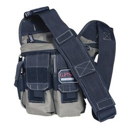 G outdoors GPS Rapid Deployment Pack Black with Gray Trim