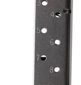 CMC CMC Magazine With Pad For 1911 Government Match Grade .45 ACP 8 Round Stainless Steel