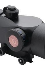 TRUGLO TGI Triton 30mm Tri-Color 5 MOA Dot Reticle Black
