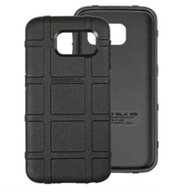 Magpul Magpul Field Case Samsung Galaxy S6 Flexible Thermoplastic Elastomer With PMAG Style Ribs For Grip Black MAG488-BLK