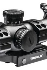 TRUGLO TGI Omnia Riflescope 1-6x24mm Illuminated All-Purpose Tactical Reticle Matte Black Finish Includes Mount 30mm Omnia Riflescope