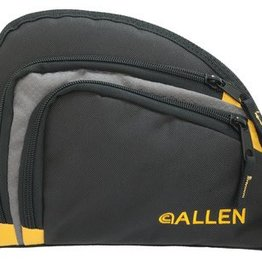 Allen Company ALC Auto-Fit 2-Pocket Handgun Case Measures 9.5x7.25 Inches Black/Gray/Yellow Auto-Fit Two Pocket Handgun Cases