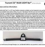 "Tsunami Bar® 32"" Multi-LIGHT"