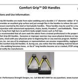 """Comfort Grip™ 6"""" DD Handles"""