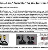 Tsunami Comfort Grip™ Tsunami Bar® Pro-Style Conversion Kit