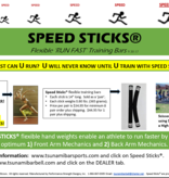Tsunami Speed Sticks® Flexible Hand Weights (1 Pair)