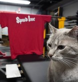 Spud, Inc. Red and White T-Shirt