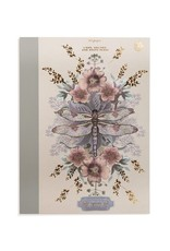 Dragonfly Cloth Bound Notebook