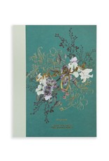 Jewel Flower Cloth Bound Notebook