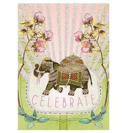 Fancy Elephant Card