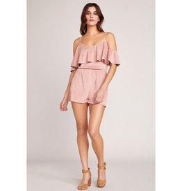 Suede Into You Romper