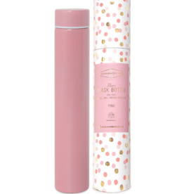 Slim Flask Bottle - Pink Confetti