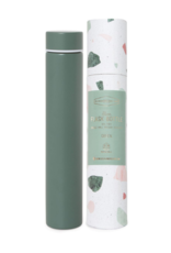 Slim Flask Bottle - Green Terrazzo