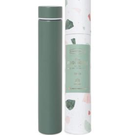 Slim Flask Bottle - Green Terrazzo