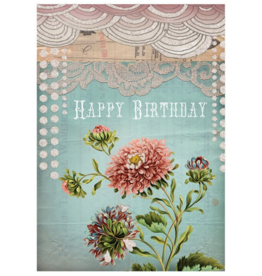 Birthday Lace Card