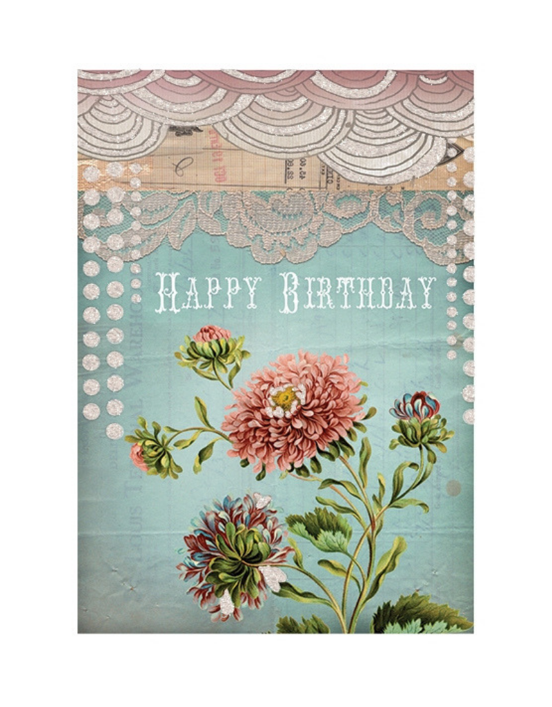 Birthday Lace Card