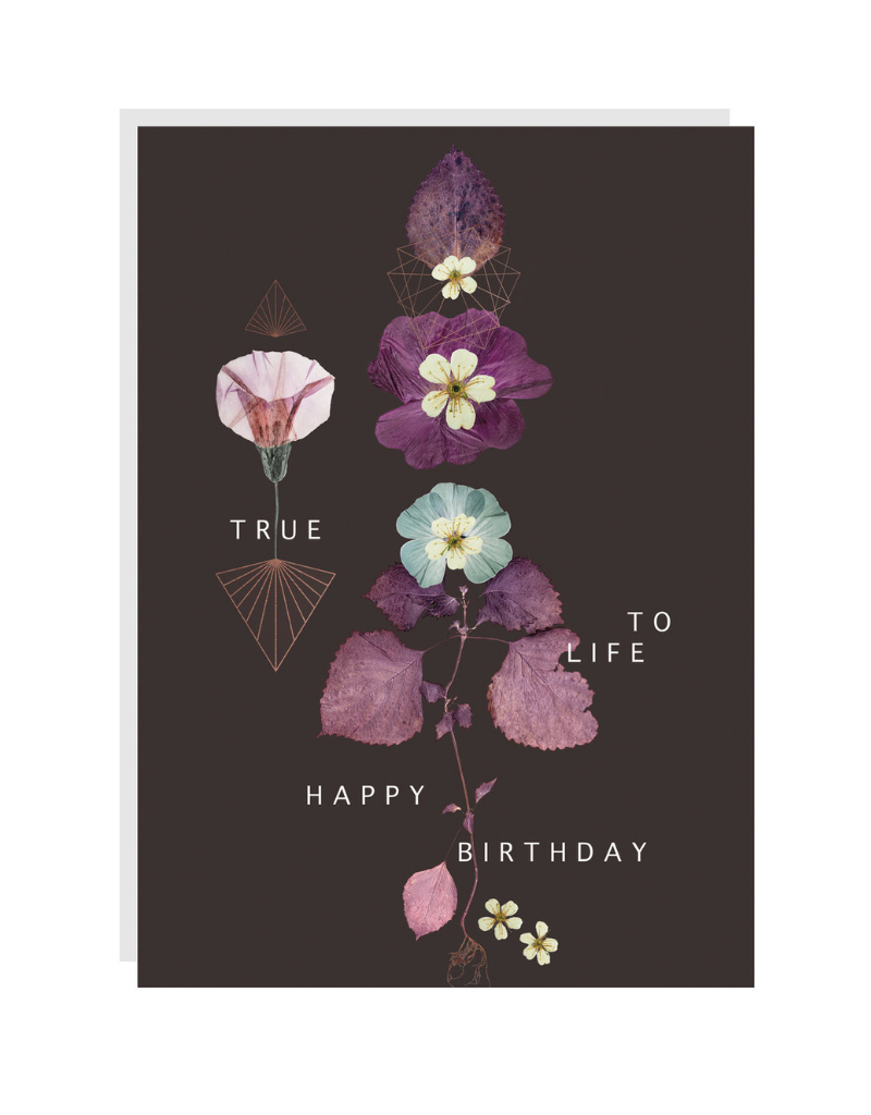 True to Life Card