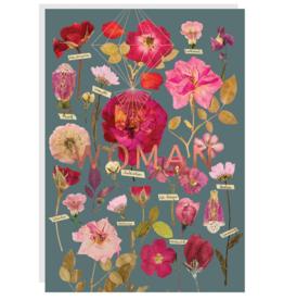 Woman's Garden Card