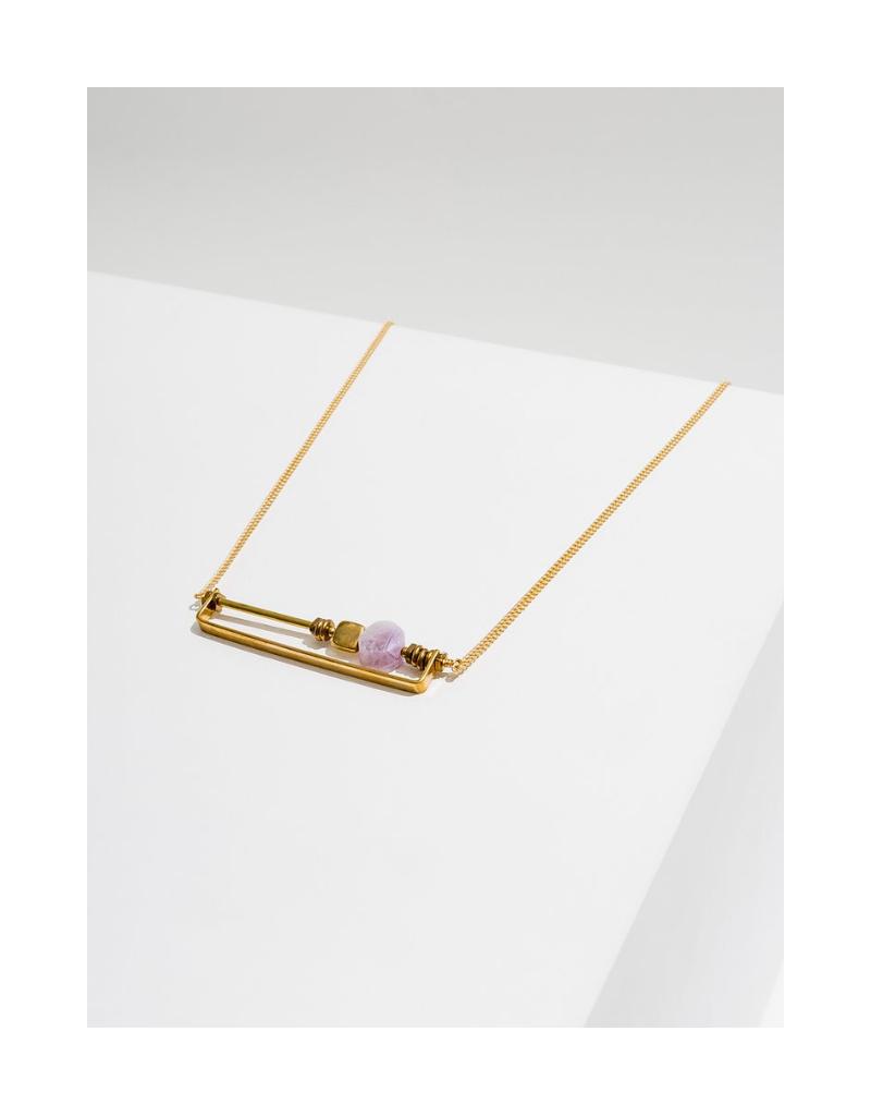 Vesper Necklace in Amethyst