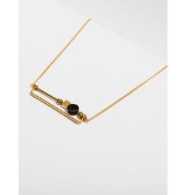 Vesper Necklace in Onyx