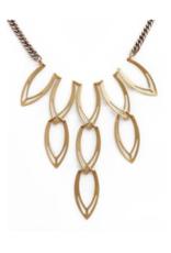 Art Nouveau Bib Necklace