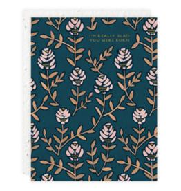 Seedlings Birthday Floral Card