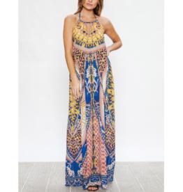 Freyda Halter Maxi Dress