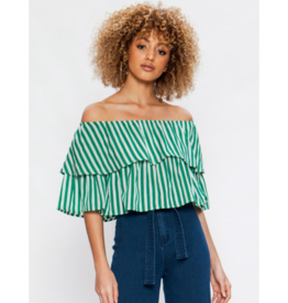 Fable Off-The-Shoulder Crop Top