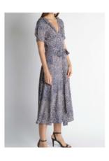 Camila Open Back Leopard Print Dress