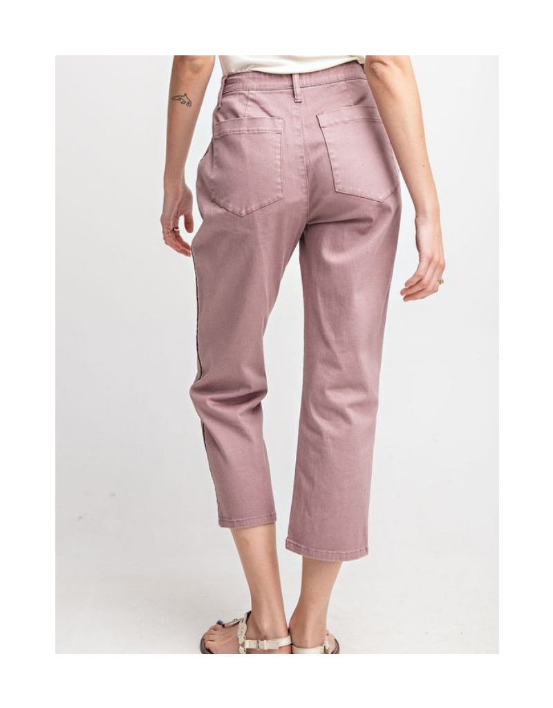 Evie Striped Twill Pants