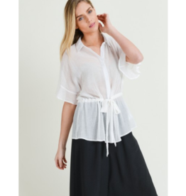 Diana Belted Shirt