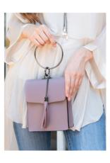 Cosette Handbag in Aubergine