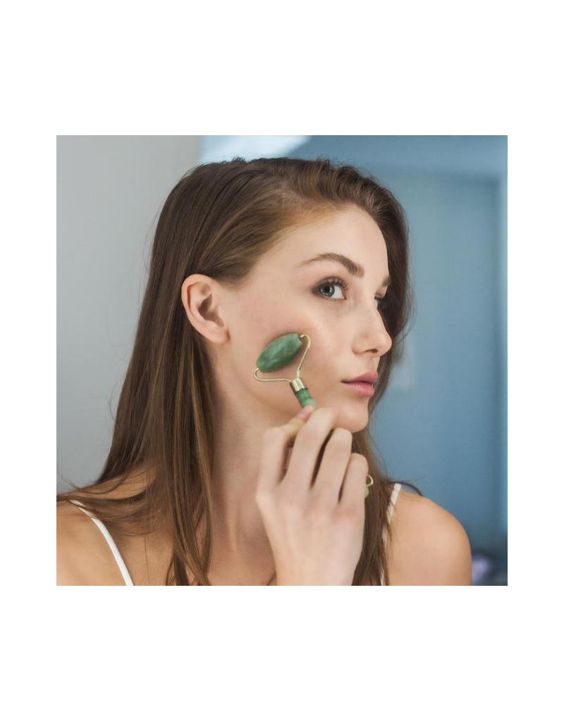 Jade Crystal Facial Roller