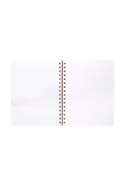 Spiral Notebook in Navy Floral