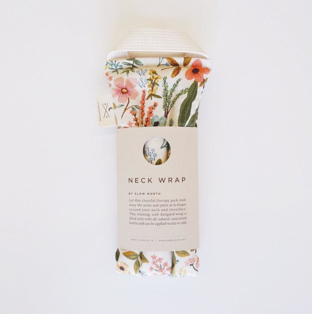 Neck Wrap Therapy Pack in Wildflower