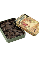 Dark Chocolate Leaves