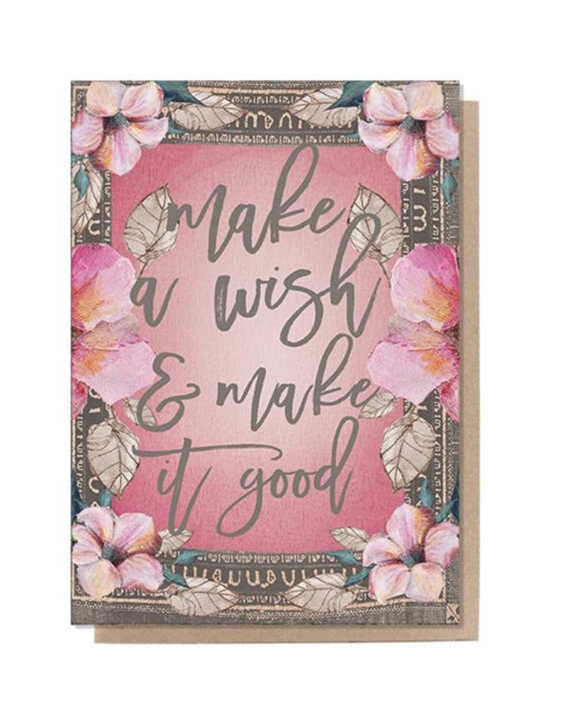 Wish Good Birthday Card