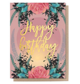 Happy Birthday Rose Card