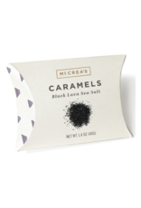 1.4oz Pillows of  Black Lava Sea Salt Caramels