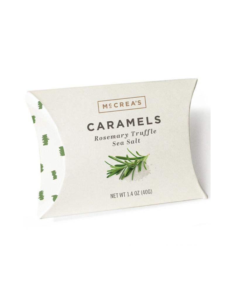 1.4oz Pillows of Rosemary-Truffle Sea Salt Caramels