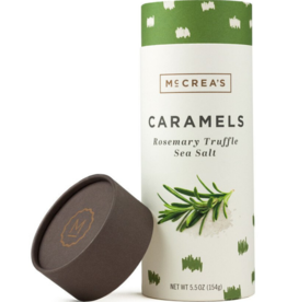 5.5oz Sleeve of Rosemary-Truffle Sea Salt Caramels