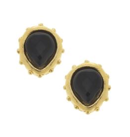 Marie Earrings in Black