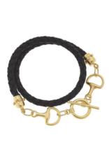 Gold Horse Bits Bracelet