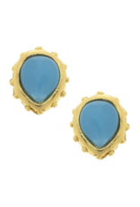 Marie Earrings in Turquoise