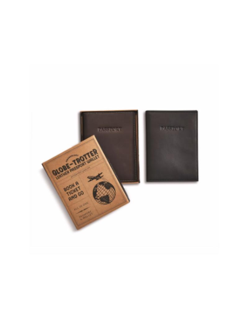 Leather RFID Passport Holder