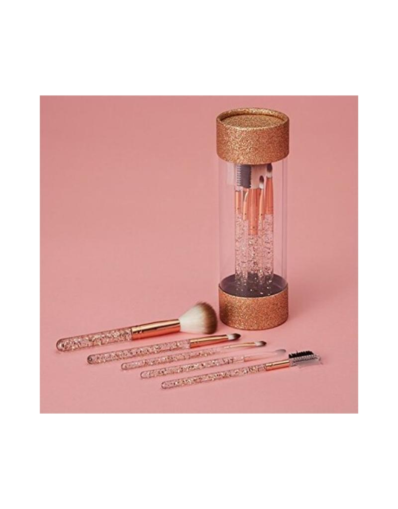 Glamed Up 5-Piece Makeup Brush Set