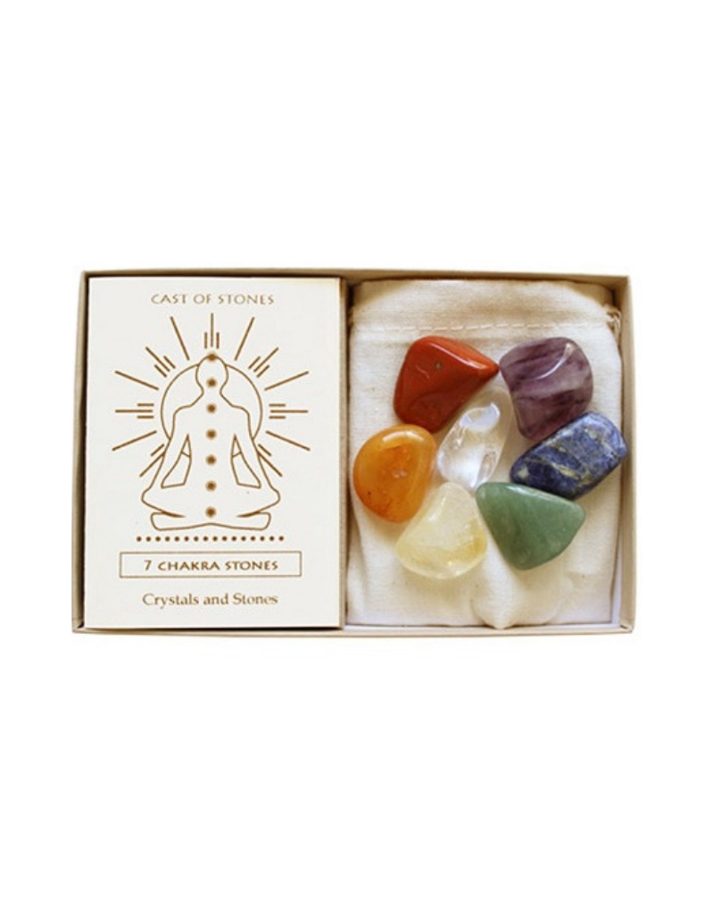 7 Chakra Stone Box