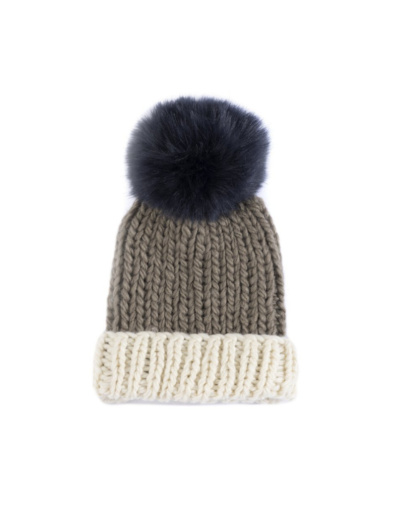Andi Knit Hat with Pom