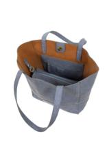 Avery Python Tote Handbag