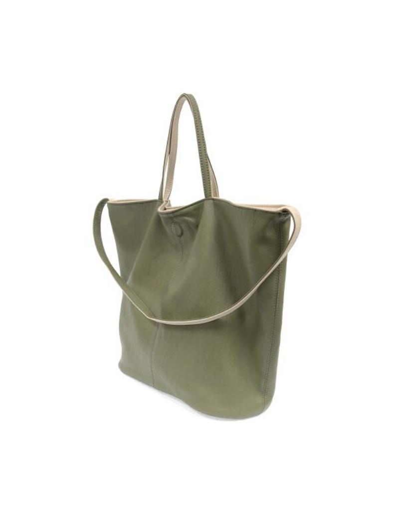 Riley Reversible Slouchy Hobo Handbag